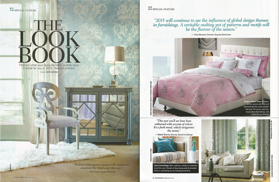 February, 2015 Good Homes Pg.84 U0026 90