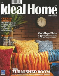 July, 2015 Ideal Home & Garden Cover